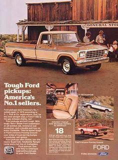 Vintage Trucks 1979 Ford Pickup bought one just like this brand new from Carrol Ford, wish I still had it 1979 Ford F150, 1979 Ford Truck, Old Ford Trucks, Ford Pickup Trucks, Ford Obs, Truck Drivers, Jeep Pickup, Station Wagon, Bicicletas Raleigh