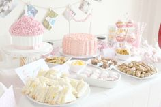 Children's Birthday Party - sweet and sweet
