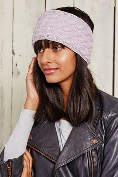 This is J   falling for knits   thisisj.com   cable knit headband   winter style inspiration   great gift idea #thisisj #knit #headband