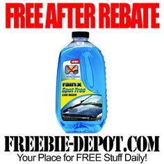 FREE AFTER REBATE – Rain-X Spot Free Car Wash – FREE Auto Cleaner – Exp 5/27/15  #freebate