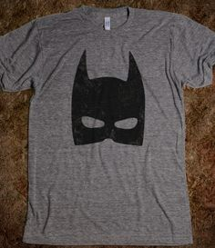 Minimalist superhero shirts. I kinda want them all, but mainly this one.