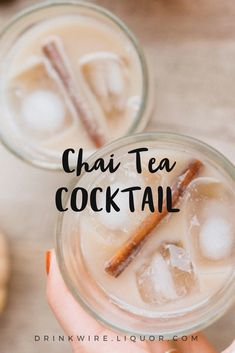 You'll be shocked how easy it is to add #chai to your #cocktails
