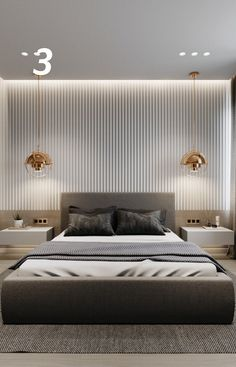 Apartment in the house MAYAKOVSKY, a joint project with Pavel Godyayev. Hotel Bedroom Design, Master Bedroom Interior, Modern Master Bedroom, Bedroom Furniture Design, Home Room Design, Home Decor Bedroom, Teen Bedroom, Boy Sports Bedroom, Cosy Bedroom