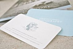 Silhouette Photographer Business Cards and Identity Package | Oh So Beautiful Paper
