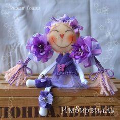 Фиоль. Девочка ягодка. Человечки ручной работы. Ярмарка Мастеров - ручная работа. Купить куколка Фиоль. Девочки, которые те еще фруктики - потому что ягодки. Текстильная куколка. Handmade.