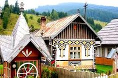 Image result for homes in bucovina Lonely Planet, Big Design, House Design, Transylvania Romania, Traditional Paintings, Exterior Design, Architecture Design, Places To Go, Beautiful Places
