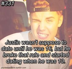 I cant date till 18, oopps broke that rule the