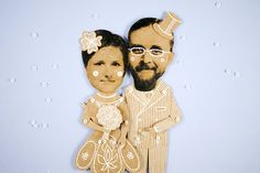 Personalized Paper Dolls by Dubrovskaya. Send me the photos and enjoy )