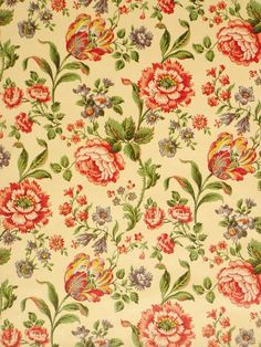 ideas wallpaper vintage wallpapers scrapbook paper for 2019 Retro Wallpaper, Fabric Wallpaper, Pattern Wallpaper, Wallpaper Backgrounds, Wallpaper Designs, Pattern Floral, Motif Floral, Floral Prints, Textures Patterns