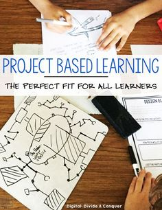 It may not seem like it, but project-based learning is the perfect way to meet all of your students' needs. There are a variety of ways in which project-based learning can be implemented and tweaked to do just that. Problem Based Learning, Inquiry Based Learning, Project Based Learning, Interactive Learning, Classroom Projects, Classroom Activities, School Projects, Classroom Ideas, School Ideas