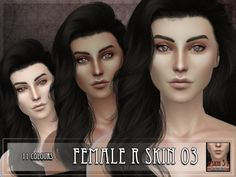 The Sims Resource: R skin 3 by RemusSirion • Sims 4 Downloads