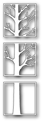 Poppystamps - Tree Triptych