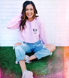 Soooo excited about her mech! I want it so badly! Youtuber Merch, Youtubers, Laurdiy And Alex Wassabi, Lauren Diy, Lauren Riihimaki, Alisha Marie, Cute Pink, Diy Clothes, Cute Outfits