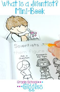 What is a scientist? What do scientists do? What's the scientific method? ... Kids have so many questions about science. Exploring the basics of what scientists do, types of scientists, and the scientific method is a perfect way to introduce kindergarten, first grade, and second grade students to science. This mini-book makes teaching the basics of science easy by providing an overview of scientists, scientific tools, & the scientific process in one book. Plus, there's an experiment too!