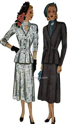 1948 Two-Piece Suit