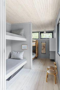 Stine-Ny-Jensen-Andreas-Burchard_11 Barn House Conversion, Relaxation Room, Tiny House Cabin, Cabin Interiors, Wooden House, Mid Century House, Dream Decor, Minimalist Home, New Room