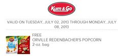 FACEBOOK+COUPON+%24%24+FREE+Bag+of+Orville+Redenbacker%E2%80%99s+Popcorn+at+Kum+%26+Go%21