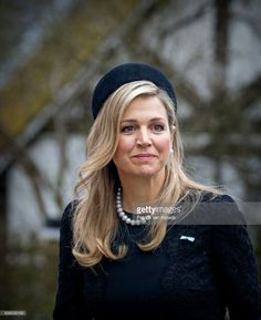 Queen Maxima of The Netherlands attends the funeral of Prince Richard at the Evangelische Stadtkirche on March 21, 2017 in Bad Berleburg, Germany. Prince Richard, husband of Princess Benedikte of Denmark, died suddenly on March 13, 2017 at age 83. (Photo by Patrick van Katwijk/Getty Images)