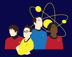 Big Bang Theory Trek!