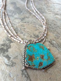 Vintage Multi-Strand Shell Beaded necklace by 70LavenderMelange