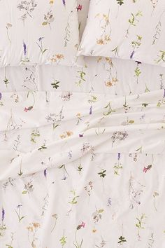 Lola Photo Floral Sheet Set