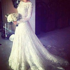 OMGosh! It's absolutely stunning. #wedding #mybigday