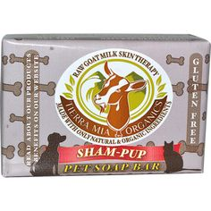 Tierra Mia Organics, Sham-Pup, Pet Soap Bar, 4.2 oz