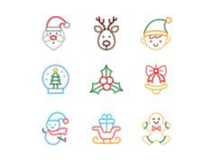Free Christmas Icons by Creative Sofa