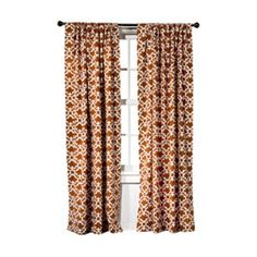 Rust Curtains @ Target    Thank you Target for making the perfect curtains for my living room :)