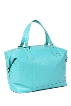 Amrita Singh Soho Colored Tote - Turquoise by Bag Boutique on @HauteLook