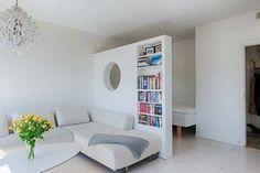 Как грамотно совместить гостиную и спальню – фото дизайн-проектов