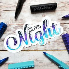 Likes, 57 Comments - Cecilia Calligraphy Quotes Doodles, Brush Lettering Quotes, Hand Lettering Quotes, Doodle Lettering, Creative Lettering, Lettering Design, Plastic Letters, Bullet Journal Banner, Lettering Tutorial