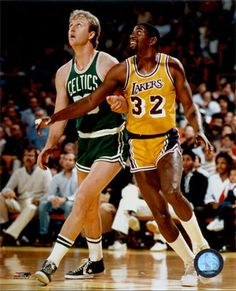 My Favorite Player, Magic, And His Rival And Friend In Green