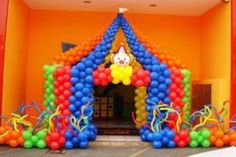 decorations circus theme | Circus Theme Party | Tips Kids Party - Ideas, Themes, Decorations ...
