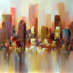Cityscape IV by Wilfred Lang