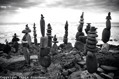Rock sculptures.