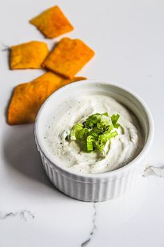 Tangy lemon garlic yogurt dip - healthy and delicious - perfect for snacking! Veg Recipes, Indian Food Recipes, Snack Recipes, Savoury Recipes, Healthy Dips, Healthy Salad Recipes, Healthy Food, Party Dip Recipes, Brunch Recipes
