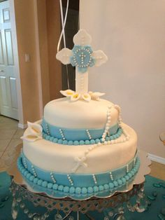 first communion cakes - Buscar con Google