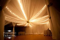 Drape your next wedding or event with this amazing Gossamer Draping Fabric is a romantic translucent fabric that's very lightweight and versatile. 12' x 100'