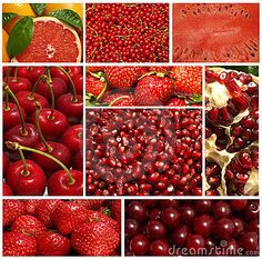 Lucious red fruit