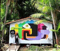 #iluminarte #graffiti #streetart #jungle