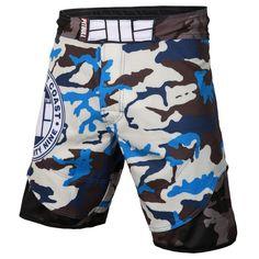 Grappling Shorts Camo Blue  #streatwear #pitbullsports #buy #tee