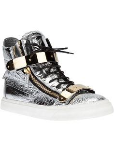 Giuseppe Zanotti Design 'London Stang' Hi-Top Sneaker