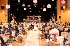 Un décor poétique pour une cérémonie en intérieur