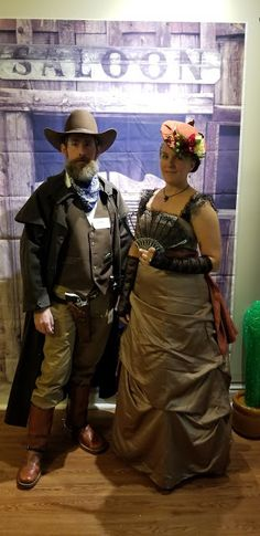 Our friend Amy hosts a murder mystery party every year for her birthday (which is right around Halloween).