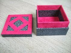 Voici le mode d'emploi pour réaliser cette boîte : Ce tutoriel est très détaillé et comprend de nombreuses pho...