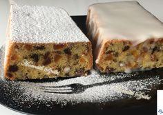 Angol karácsonyi sütemény / Gyümölcskenyér / Fudge, Feta, Banana Bread, Biscuits, Bakery, Cheesecake, Muffin, Food And Drink, Pudding