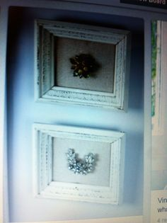 Repurposed vintage broaches