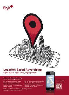 Blyk Media Adverts on Behance
