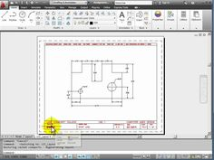 AutoCAD 2012 Tutorial 1.5 - Model and Layout Tabs